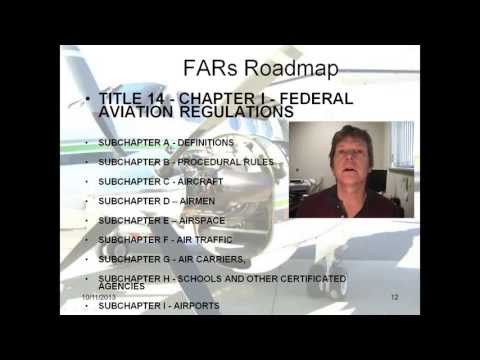 FAA Regulations Part 1, Aviation Regulations, FARs