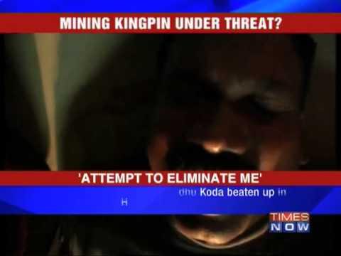 Former Jharkhand CM Madhu Koda 'assaulted'