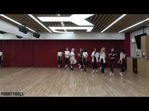 TWICE; FANCY - DANCE PRACTICE MIRROR