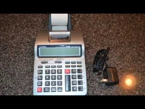 Casio HR-100TM Business Calculator Tax & Exchange