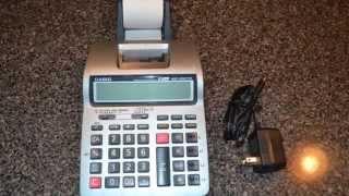 Casio HR-100TM Business Calculator Tax & Exchange