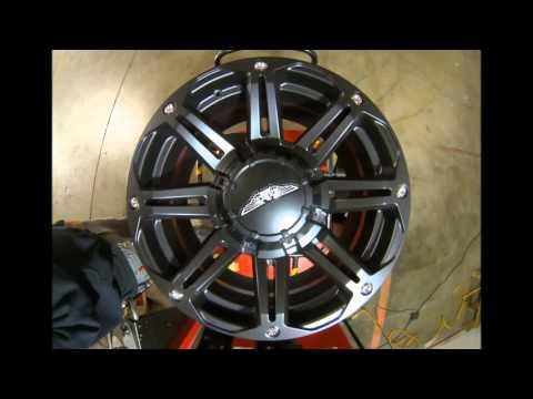 Eagle Alloy Wheels 508 Black