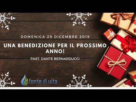 Domenica 29 Dicembre 2019 - Una benedizione per il prossimo anno!