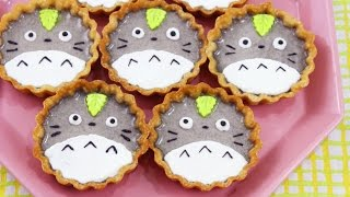 How to Make Totoro Tarts!