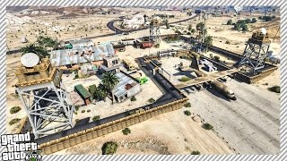 THE BEST DESERT MILITARY BASE IN GTA 5??