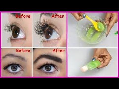 43ea1a91866 Grow Your Eye Brows and Eye Lashes in just 3 Days/Naturally Tamil Tips