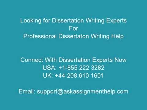Connect With Dissertation Experts To Get Dissertation Writing Help