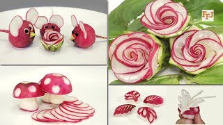 Cover images 5 Brilliant Arts & Tricks with Radish