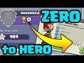 ZERO to HERO! - TH9 Push to Legends Episode 1! - Clash of Clans - Town Hall 9 Pushing