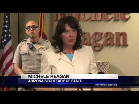 Reagan makes Arizona election results...