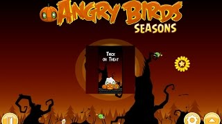 Angry Birds: Seasons. Trick or Treat (level 2-15) 3 stars Прохождение от SAFa