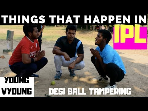 Things That Happen In IPL (Indian Pajama League) - | Gully Cricket | यंग व्यंग्य | YOUNG VYOUNG | YV