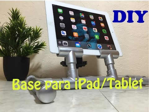 Base Economica DIY para iPad / Tablet    Doble Proposito Loop