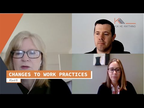 Changes to work practices