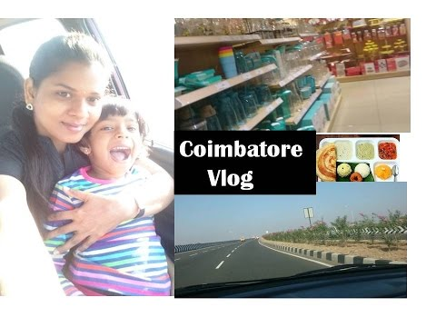 Coimbatore Vlog [English ] | Brookfield mall ,food ,shopping & more | Deepstamilkitchen