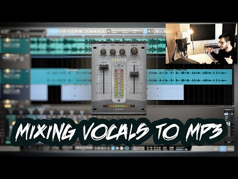 Mixing Vocals To A Mp3 Instrumental | How to make room for vocals