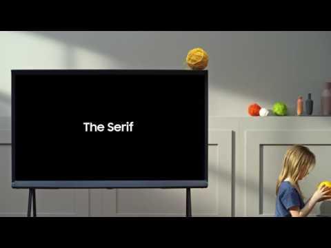 Samsung The Serif QLED 2019 : le téléviseur au design iconique - Cobra fr
