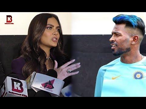 Esha Gupta Angry Reaction On Hardik Pandya At Gate Dirty Music Launch 2019