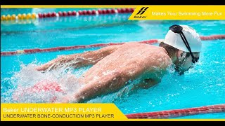 BEKER Underwater MP3 Player for Swimming-usage instructions