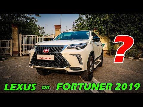 FORTUNER 2019 or LEXUS worth Rs.2.33 crore 🙊🙊