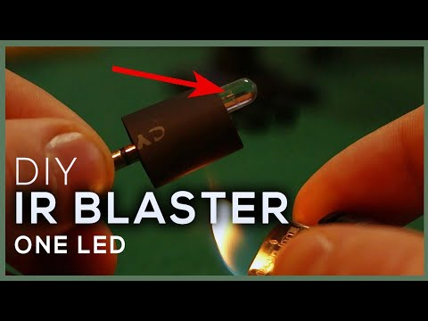 DIY IR BLASTER With Only 1 LED | Universal Remote Ir Blaster Schematic on