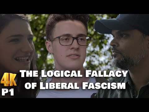 Speakers Corner: The Logical Fallacy of Liberal Fascism P1