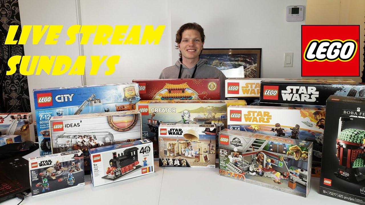 LEGO Livestream Pirates And Star Wars