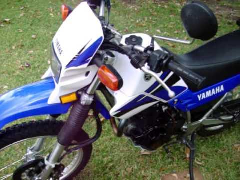 2007 Yamaha XT225 in BAMA - YouTube