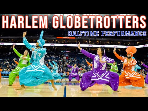 Bhangra Empire - Harlem Gobetrotters Game - Halftime Performance