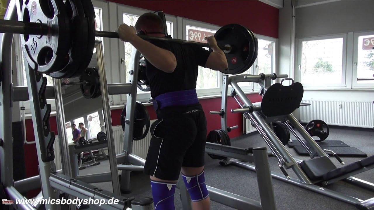 Workout und Backstage bei Mic's Body Shop - YouTube