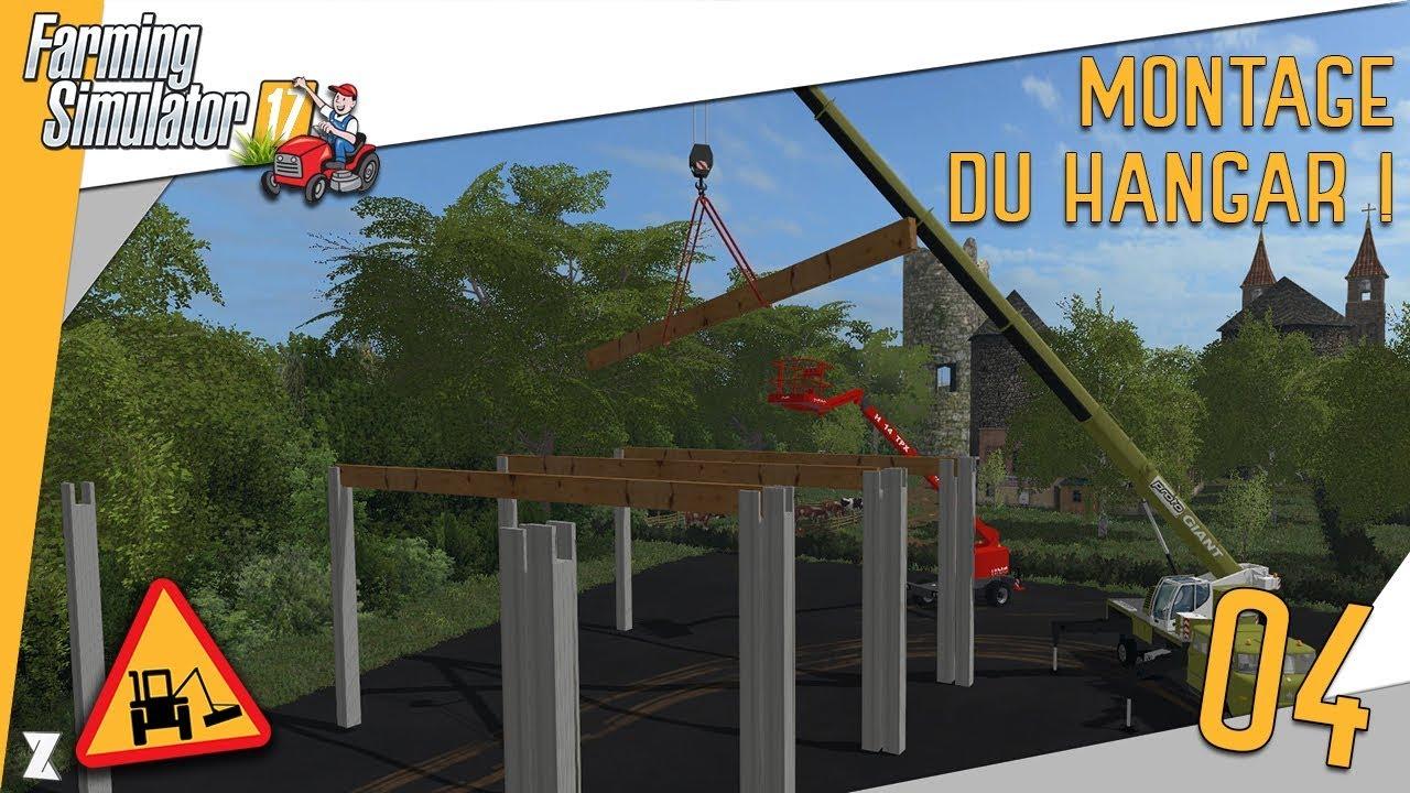 farming simulator 17 entretien communal 4 construction du d p t 3 4 montage de la structure. Black Bedroom Furniture Sets. Home Design Ideas
