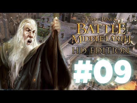 I Swear to you now, I will Not let The White City Fall! BFME1 HD Edition - Episode 9