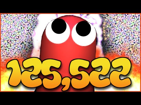 125,000K+ WORLD RECORD MASS GAMEPLAY - SLITHER.IO WORLD RECORD (YouTube Highscore)