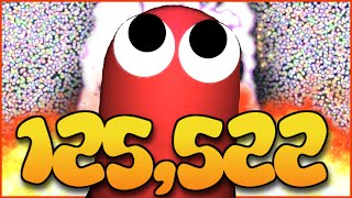 125,000K+ WORLD RECORD MASS GAMEPLAY - SLITHER.IO WORLD RECORD (YouTube Highscore) thumbnail