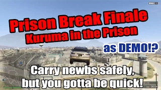 GTA 5 Online - Prison Break Kuruma Method as DEMOLITION!