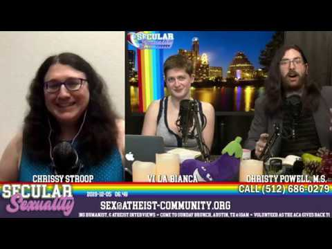 Secular Sexuality 06.48 with Christy Powell, Vi La Bianca, & Chrissy Stroop from YouTube · Duration:  1 hour 37 minutes 20 seconds