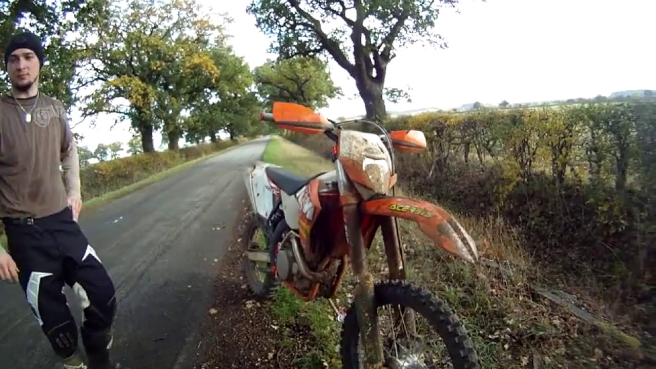 ktm 400 exc f & 250 exc f both factory edition 2011 - youtube