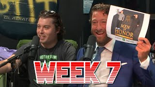 Dave Questions his Alliance to the Ryders  Barstool Pick Em Week 7