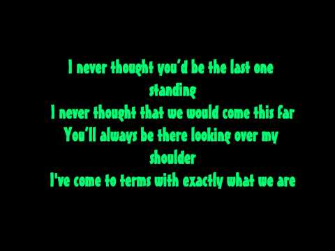 A Day To Remember-If I Leave Lyrics on Screen HD