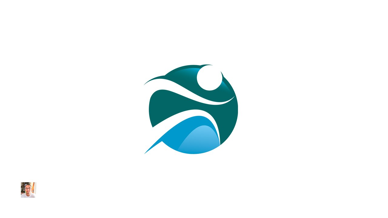 Tutorial] Fitness logo - Adobe Illustrator - YouTube