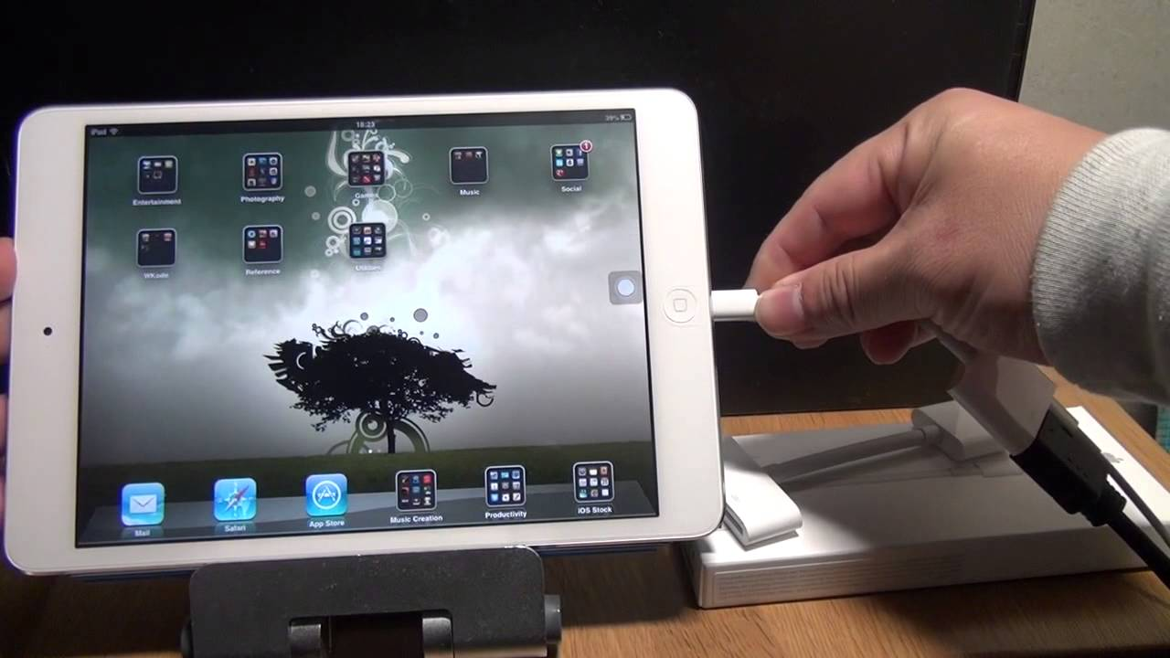 Apple Ipad Mini Lightning Digital Av Adapter Unboxing