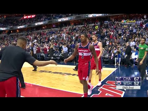 2nd Quarter, One Box Video: Washington Wizards vs. Charlotte Hornets