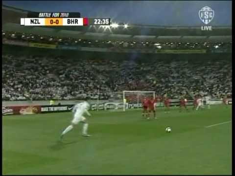 New Zealand vs Bahrain (1-0) 1st Half Highlights