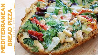 Yummy Mediterranean Bread Pizza