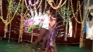 telugu andhra boy and girl stage recording dance 2/2