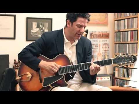 "John Pizzarelli - ""I Got Rhythm"" (solo) at the Fretboard Journal"