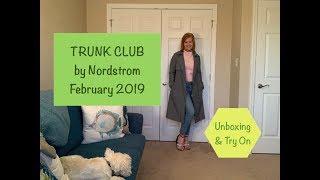 Hi Everyone! My February Trunk Club is here, my stylist is definite...