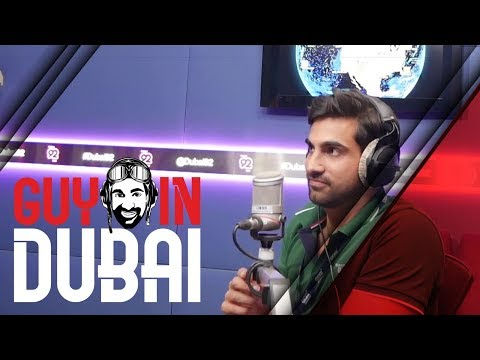 Behind the Scenes at a radio station in Dubai