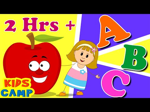 ABC Song  ABC Songs for Children  Popular Nursery Rhymes Collection PART 3  Kidscamp