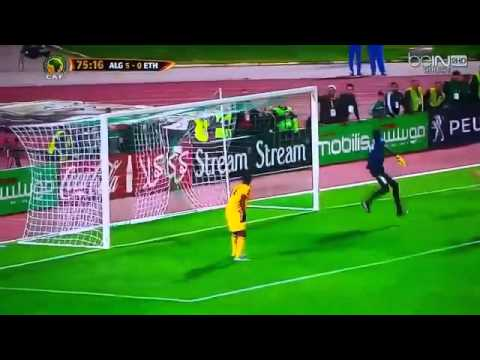 Leicester star Riyad Mahrez assists a worldie for Algeria teammate